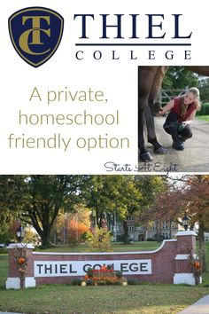 Thiel College is private, homeschool friendly college located in PA offering small class sizes, 60  areas of study and 100  clubs, teams, and organizations. High School Years, In High School, High School Students, High School Programs, High School Curriculum, Enrichment Programs, Service Learning, Career Counseling, Skills To Learn