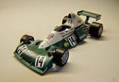 F1 Paper Model - 1974 BRM P201 (by Jean-Pierre Beltoise) Paper Car Free Template Download