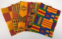 Colors of Africa. Available from AQS. Made in West Africa.