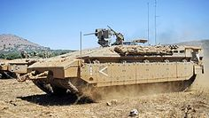 Namer IFV/APC is an Israeli armored personnel carrier based on a Merkava tank chassis.
