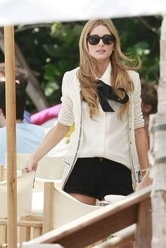 Olivia Palermo, put together & perfectly dressed - as always! #style #inspiration #palermo