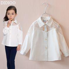 blusa camisera para niña - Buscar con Google