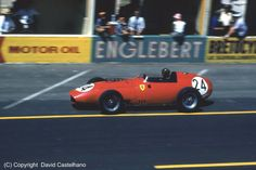 1959 GP Francji (Reims) 	Ferrari Dino 246 (Tony Brooks)