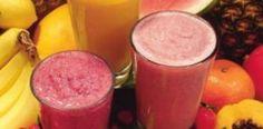 receita suco de abacaxi e goiaba