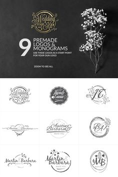 Wedding Design Kit by DesignSomething on @creativemarket