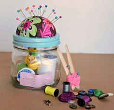 22 DIY Mothers Day Gift Ideas | Handmade Sewing Kit | Homemade Mothers Day Gifts from Kids