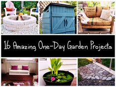 16 Amazing One-Day Garden Projects