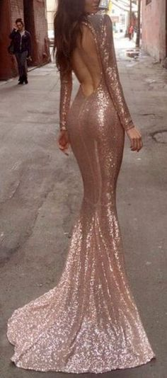 rose gold dress | evening dress | fashion blogger | sequin dress