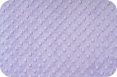 LAVENDER MINKY Dot / Cuddle Dimple Fabric by the yard - MojoFabricsandQuilts, $12.95