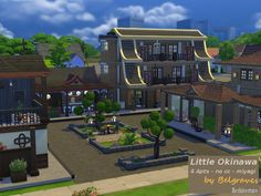 Little Okinawa Created By Leander Belgraves http://www.thesimsresource.com/downloads/details/category/sims4/title/little-okinawa/id/1266931/