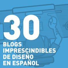30 blogs imprescindibles de diseño en español. Y Creatividad en Blanco está en esta lista @creatividadblan
