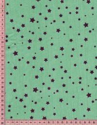 Poussière d'étoiles aubergine sur bleu ancien - Linna Morata
