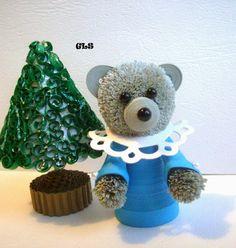 GLS2007: Квиллинг. Медвежонок