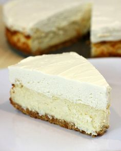 is for Vanilla! Southern With A Twist: Vanilla Mousse Cheesecake