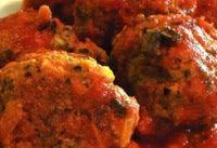 Almôndegas de Soja ao Molho de Tomate (vegana)