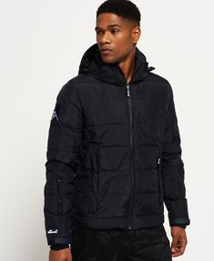 Shop Superdry Mens Ski Command Utility Down Jacket in Super Dark Navy. Buy now with free delivery from the Official Superdry Store. Superdry Jackets, Superdry Mens, Snowboard Style, Mens Down Jacket, Snowboarding Outfit, Mens Skis, Bungee Cord, Winter Mode, Blazer Fashion