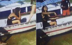 Vídeo mostra Camila Pitanga em desespero após afogamento de Domingos Montagner