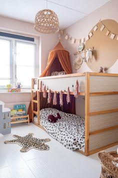 Ikea Bed Hack, Ikea Kura Bed, Ikea Hack Kids, Kids Room Design, Little Girl Rooms, Kid Beds, Boy Room, Girls Bedroom, Room Inspiration
