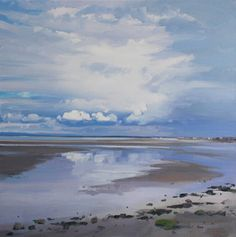 ST ANDREW'S, FIFE Land and seascapes from John Bell, particularly around the Ayrshire coast and Troon.(Image: North beach, Troon) Byre Theatre until 3 Nov http://www.byretheatre.com/whats-on-detail.php?ID=475