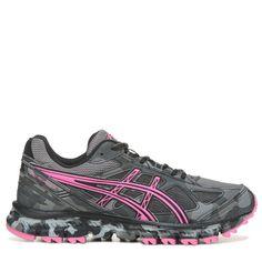 best loved 6a290 31211 ASICS Women s Gel-Scram 2 Trail Running Shoes (Black Pink) Black Running  Shoes
