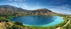 Crete is an island with lots of lakes and rivers.Most Hydrobiotopes in Chania are accessible by walking so you can feel the nature around y. Crete Chania, Crete Greece, Corfu, Beautiful Nature Pictures, Beautiful Places, Amazing Nature, Greece Resorts, Mountain Wallpaper, Greece Holiday