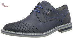 FRETZ men  Locarno, Derby homme - Bleu - Blau (32 blue), 39 1/3 - Chaussures fretz men (*Partner-Link)