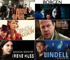 The British TV Place: Brit Mystery Fans Falling for Nordic Noir