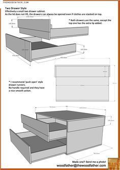 Diy Wood Box Storage Furniture Plans 50 Ideas For 2019