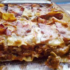 Lasagna, Hawaiian Pizza, Mozzarella, Quiche, Picnic, Menu, Breakfast, Ethnic Recipes, Food