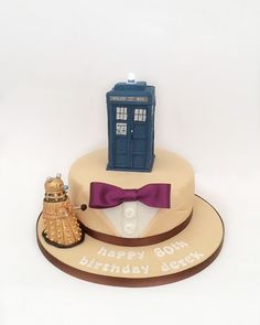 Doctor Who TARDIS birthday cake Cake Designs Pinterest Tardis