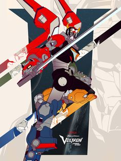 Voltron fans have been waiting to see their favorite property resurrected for a long time. Rumors of movies have come and gone, but finally, on June 10, a new show is coming to Netflix. To celebrate, Voltron is coming to another new medium: an art gallery.