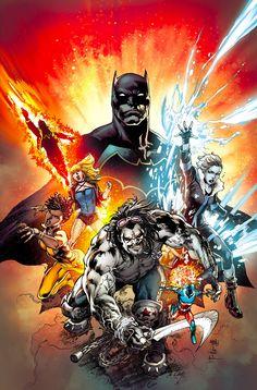 Batman & Justice League of America by Ivan Reis