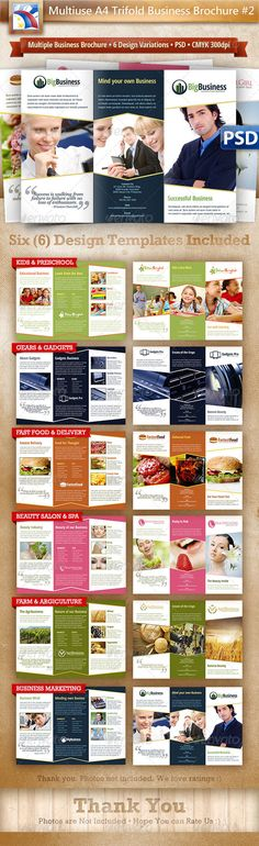 Social Fusion Trifold And Flyer  Brochures Brochure Template And