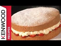 Genoise Batter Cake Recipe for Your Kenwood Cooking Chef - YouTube