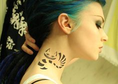 This tat AND hair! omg. <3 it