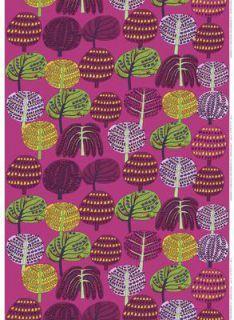 Isoisän Puutarha cotton fabric by Marimekko Painting Patterns, Fabric Patterns, Print Patterns, Fabric Design, Pattern Design, Textile Design, Scandinavian Fabric, Marimekko Fabric, Scandinavia Design