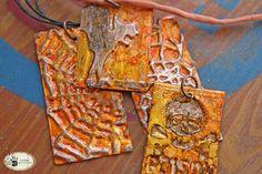 Tutorial: Alcohol Ink Crackled Metal Pendants