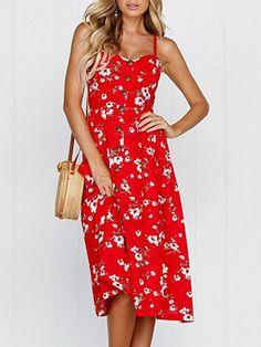 kemiove 2019 New Women Casual Halter Color Stripe Print Sling Dress