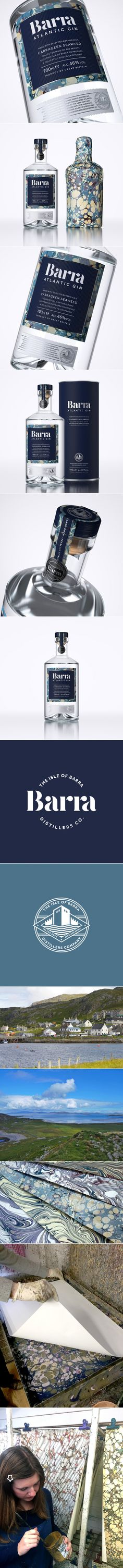 This Scottish Gin Captures The Spirit of the Sea In a Beautiful Way — The Dieline | Packaging & Branding Design & Innovation News... - a grouped images picture - Pin Them All