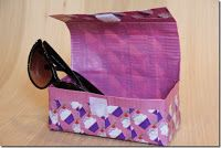 Totally Tutorials: Tutorial Exchange - How to Make a Sunglass Case with Duct Tape