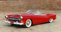 red 54 buick wildcat | Concept cars, el futuro del pasado.