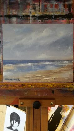 Oil Painting In Photoshop Impressionist Paintings, Seascape Paintings, Landscape Paintings, Watercolor Paintings, Impressionist Landscape, Oil Painting Pictures, Oil Painting On Canvas, Abstract Landscape, Abstract Art