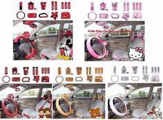 NEW Cartoon Character Car Accessories 14 PCS