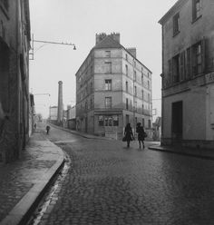 Maison D` Erik Satie, Arcueil, France, 1945 by Robert Doisneau