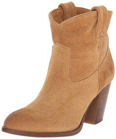 FRYE Women's Ilana Short Western Boot * Awesome boots. Click the image : Boots