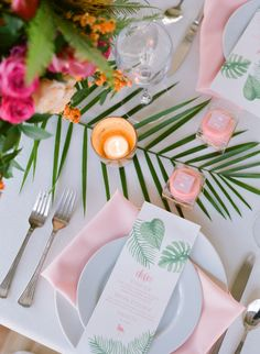 Ditch the Boring Bridal Shower and Plan a Tropical Bash! Ditch the Boring Bridal Shower and Plan a Tropical Bash! Bridal Shower Tables, Beach Bridal Showers, Tropical Bridal Showers, Tropical Party, Bridal Shower Decorations, Bridal Shower Invitations, Table Decorations, Beach Wedding Favors, Wedding Table
