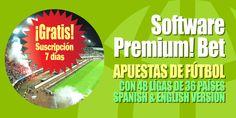 #Software #apuestas #fútbol #picks Pronósticos, probabilidades, apuestas recomendadas e informes estadísticos. http://www.losmillones.com/software/apuestas.html