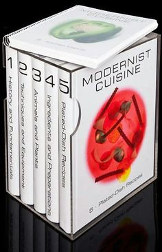 Modernist cuisine. The pictures look amazing.