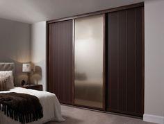 Fancy Wooden Sliding Door Wardrobe Designs for Bedroom Italian