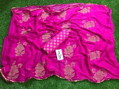 Chiffon Saree having Embroidery Butterfly Design with Raw Silk Blouse Pure Georgette Sarees, Chiffon Saree, Silk Sarees, Saree Collection, Brand Collection, South Indian Sarees, Silk Saree Blouse Designs, Elegant Fashion Wear, City Style